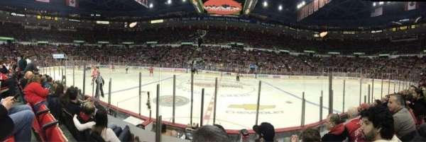 Joe Louis Arena, secção: 107, fila: 5, lugar: 15
