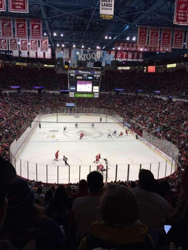Joe Louis Arena, secção: 201, fila: 10