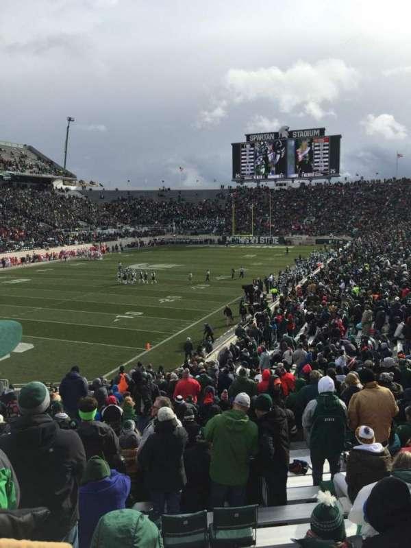 Spartan Stadium, secção: 28, fila: 34, lugar: 54