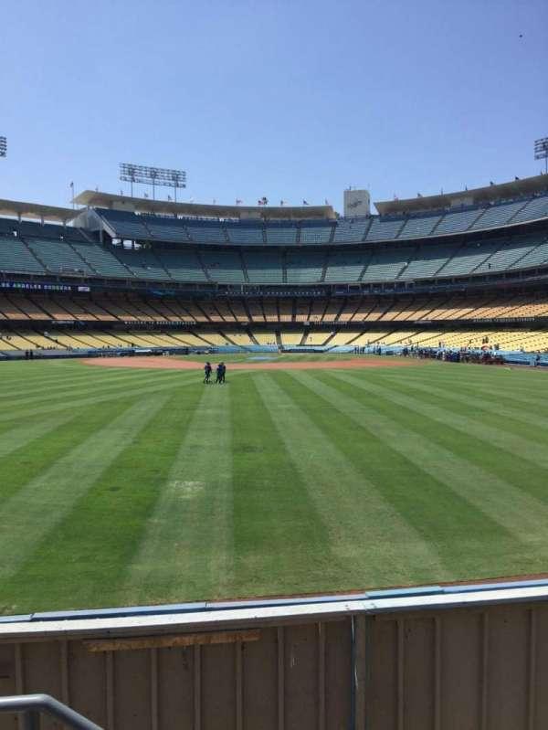Dodger Stadium, secção: 309PL, fila: B, lugar: 18