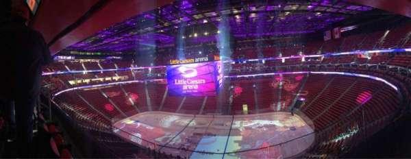 Little Caesars Arena, secção: 225, fila: 2, lugar: 12