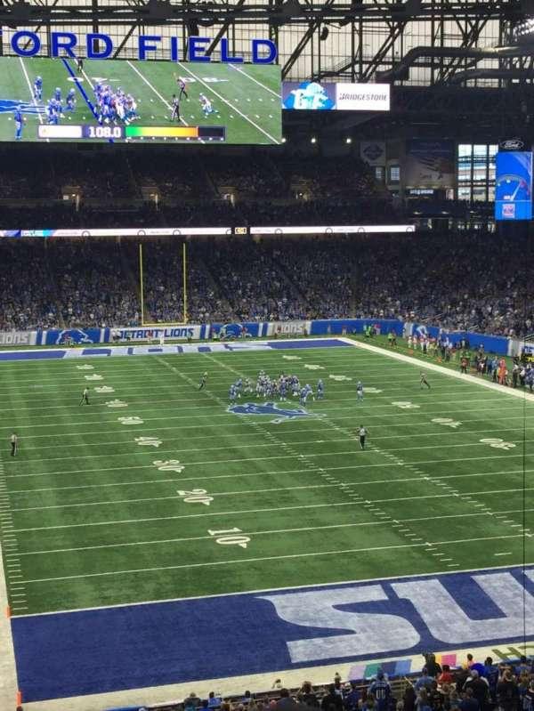 Ford Field, secção: 241, fila: 4, lugar: 18