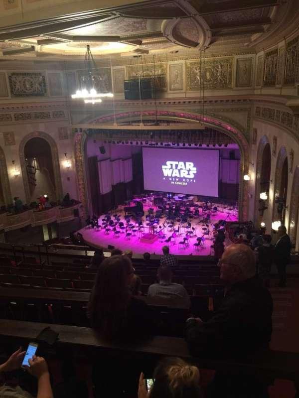 Orchestra Hall, secção: MidBalc, fila: K, lugar: 43
