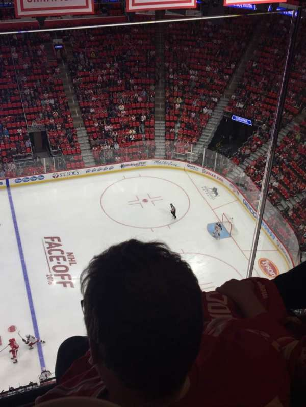 Little Caesars Arena, secção: G26, fila: 2, lugar: 7
