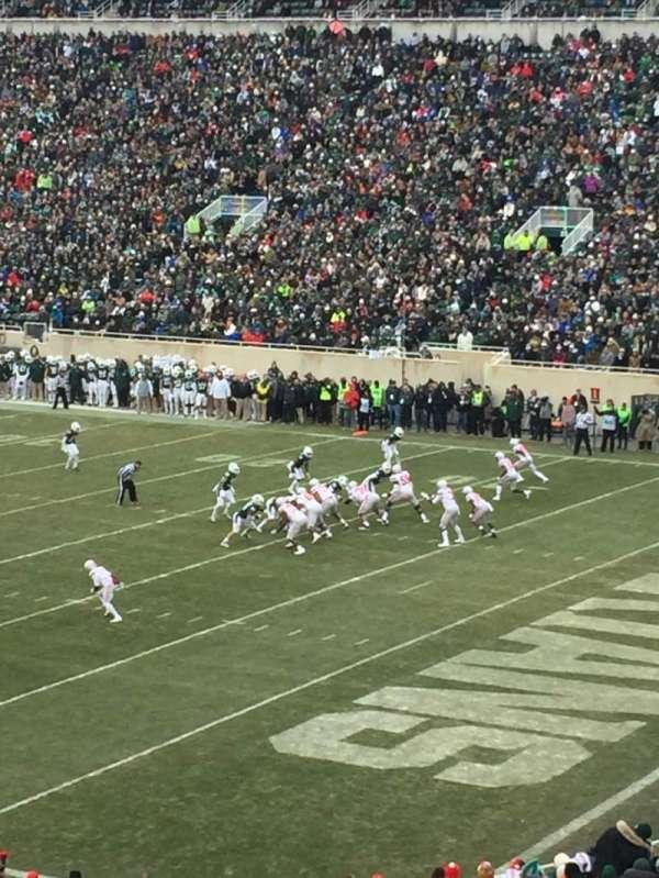 Spartan Stadium, secção: 4, fila: 46, lugar: 55