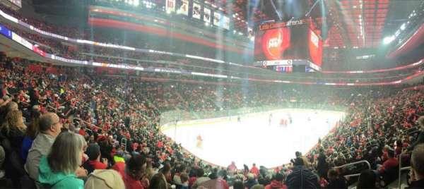 Little Caesars Arena, secção: 101, fila: 19, lugar: 6