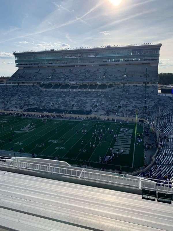Spartan Stadium, secção: 105, fila: 10, lugar: 25