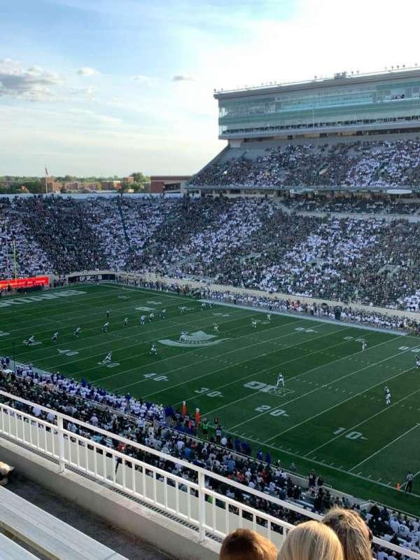 Spartan Stadium, secção: 105, fila: 5, lugar: 1