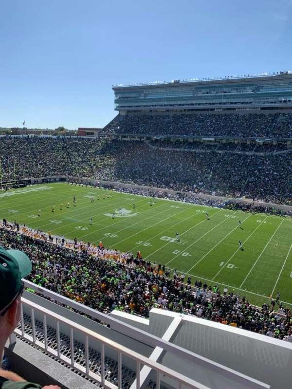 Spartan Stadium, secção: 106, fila: 2, lugar: 1