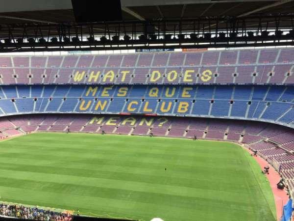 Camp Nou, secção: 309