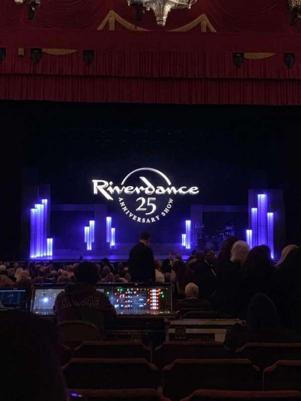Fox Theatre (Detroit), secção: F3, fila: CC, lugar: 312