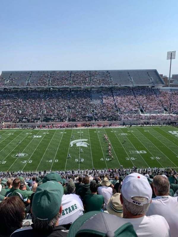 Spartan Stadium, secção: 123, fila: 15, lugar: 34
