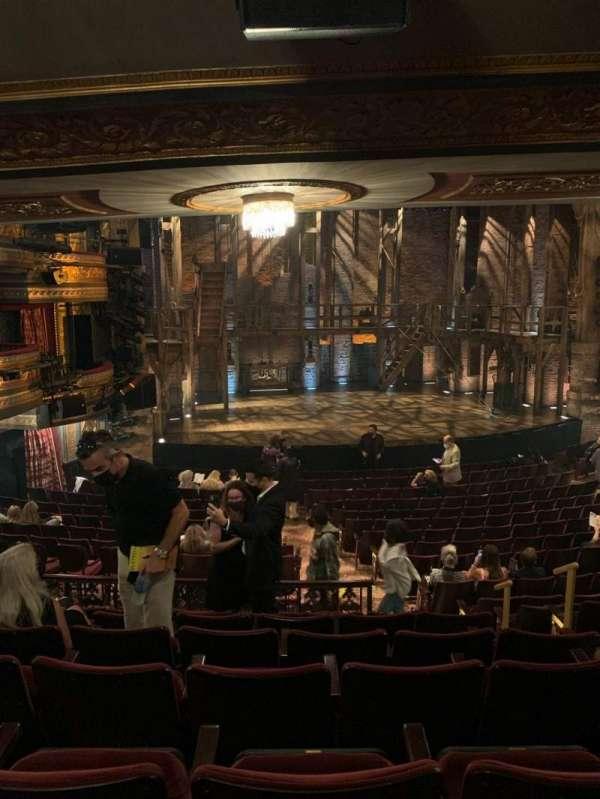 Richard Rodgers Theatre, secção: Orchestra L, fila: S, lugar: 9
