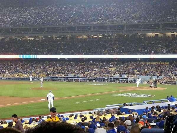 Dodger Stadium, secção: 31FD, fila: S, lugar: 5