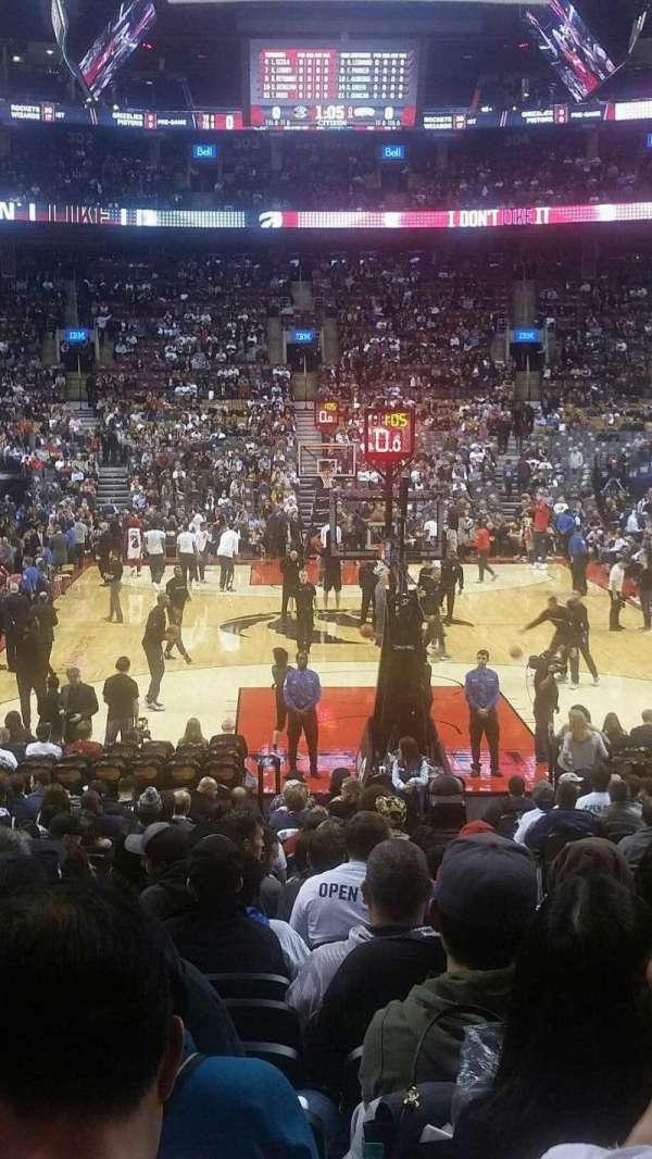 Scotiabank Arena, secção: 114, fila: 16, lugar: 4