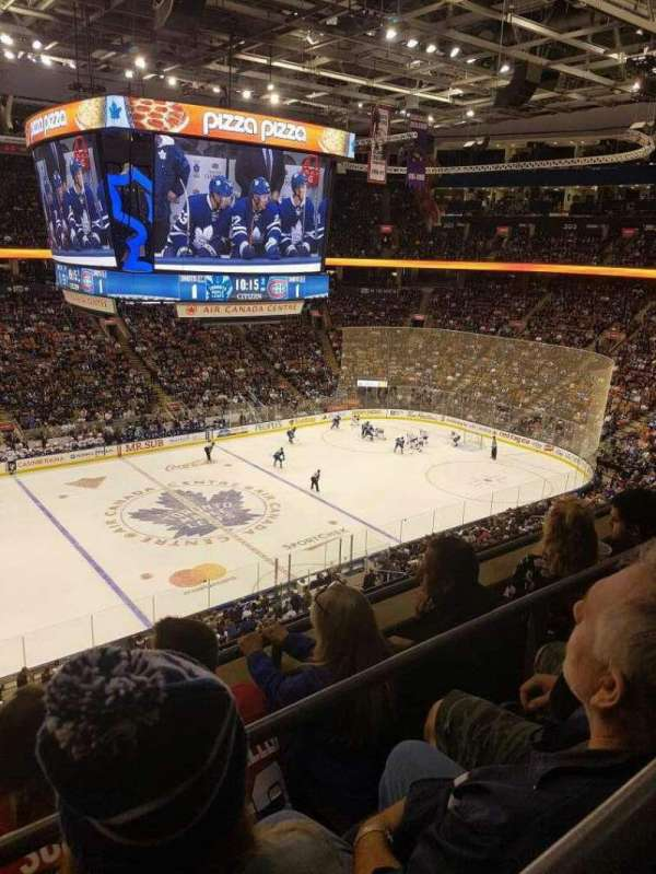 Scotiabank Arena, secção: 310, fila: 3, lugar: 23