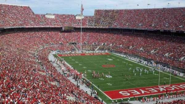 Ohio Stadium, secção: 33B, fila: 36, lugar: 33