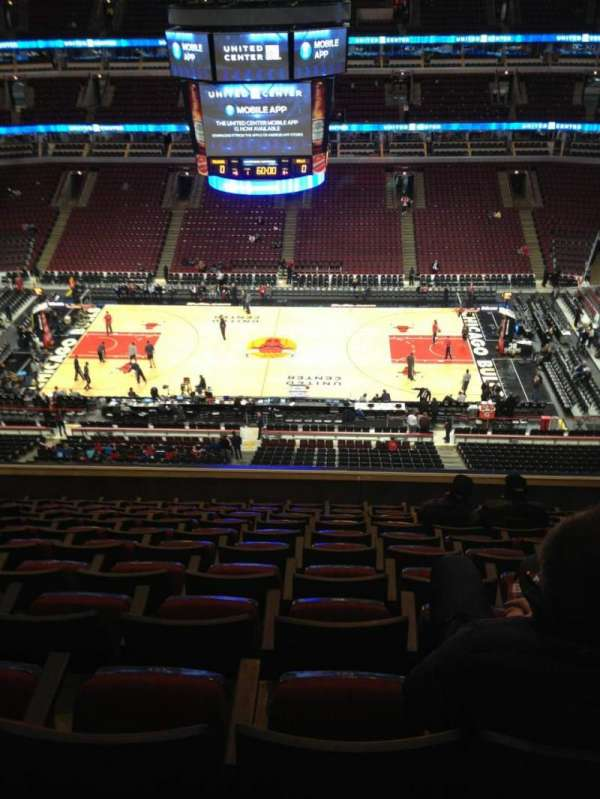 United Center, fila: 11, lugar: 11