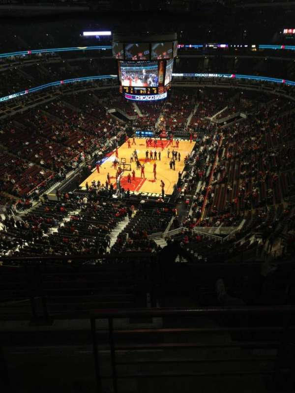 United Center, secção: 307, fila: 11, lugar: 21