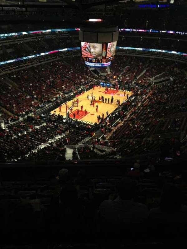 United Center, secção: 306, fila: 16, lugar: 21
