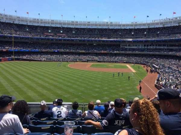 Yankee Stadium, secção: 234, fila: 9, lugar: 7