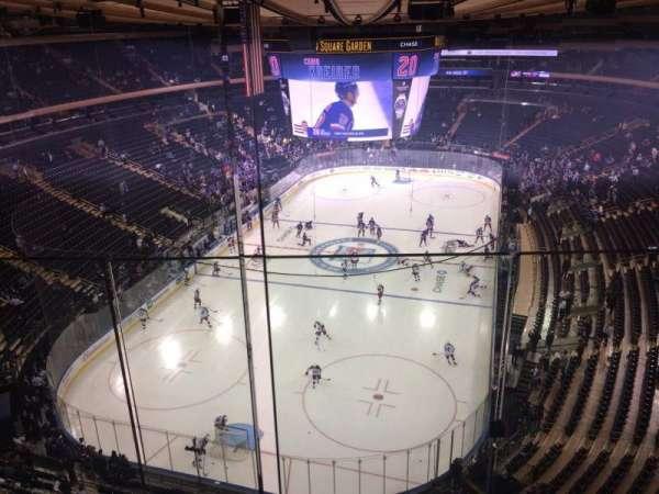 Madison Square Garden, secção: 321, fila: 2, lugar: 12
