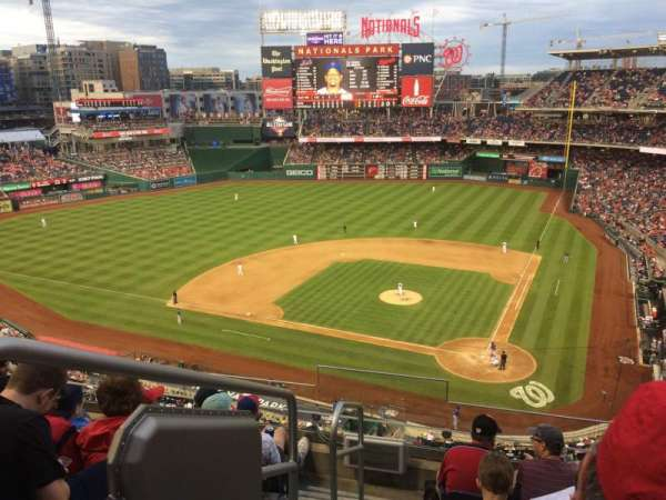 Nationals Park, secção: 311, fila: F, lugar: 21