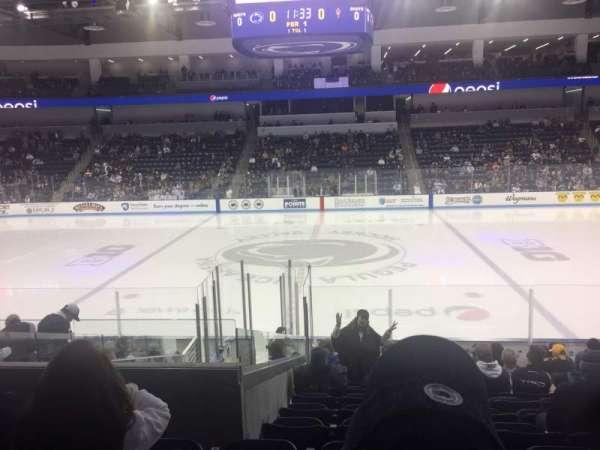 Pegula Ice Arena, secção: 110, fila: N, lugar: 10