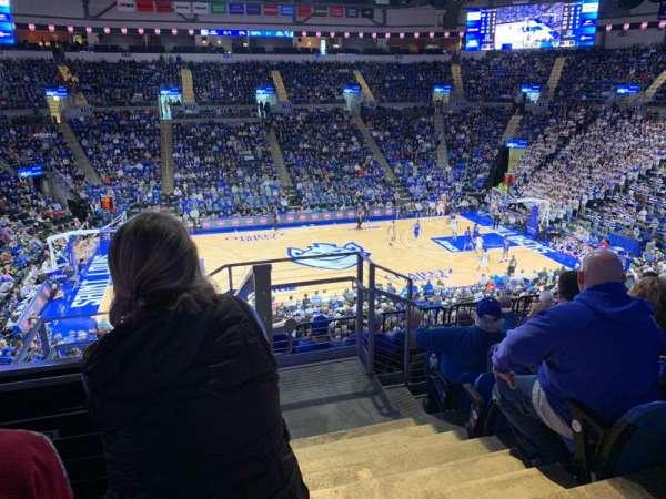 Chaifetz Arena, secção: 205, fila: E, lugar: 1