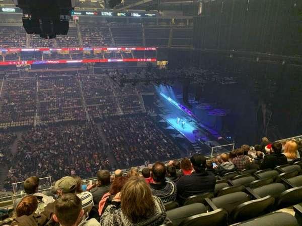 PPG Paints Arena, secção: 202, fila: K, lugar: 13