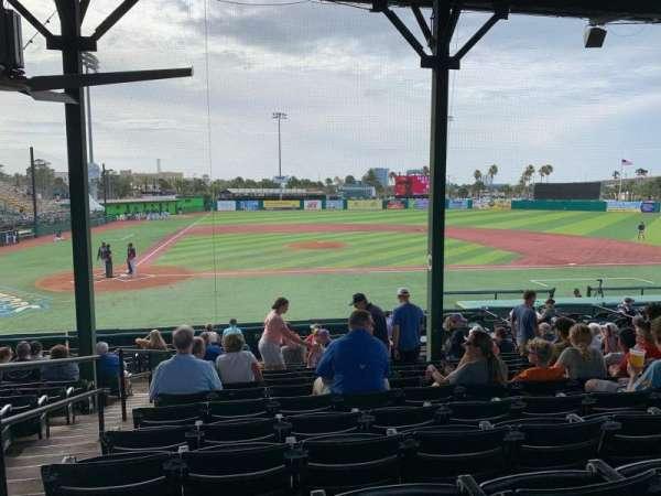 Jackie Robinson Ballpark, secção: C, fila: 13, lugar: 2