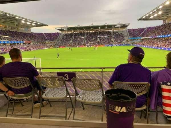 Exploria Stadium, secção: 3, fila: P, lugar: 13