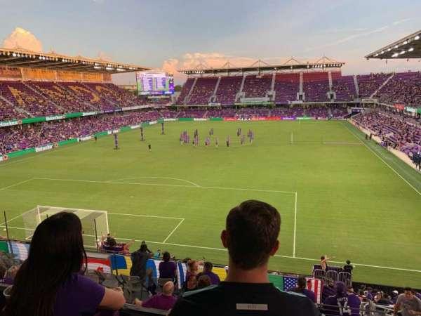 Exploria Stadium, secção: 24, fila: Y, lugar: 03