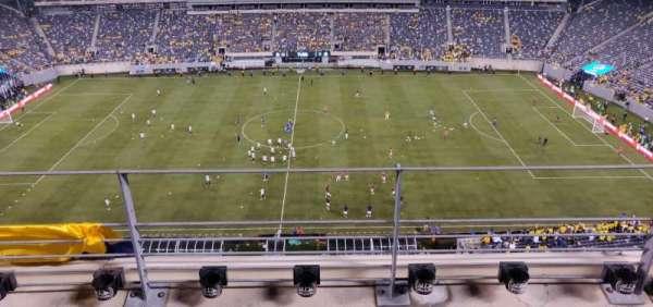 MetLife Stadium, secção: 313, fila: 3, lugar: 18