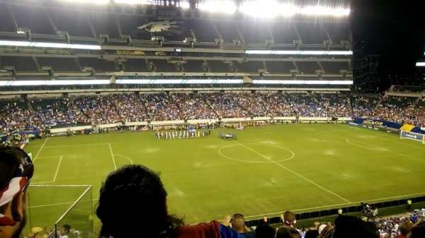 Lincoln Financial Field, secção: C19, fila: 11, lugar: 14