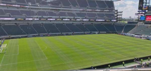 Lincoln Financial Field, secção: C18, fila: 5, lugar: 11