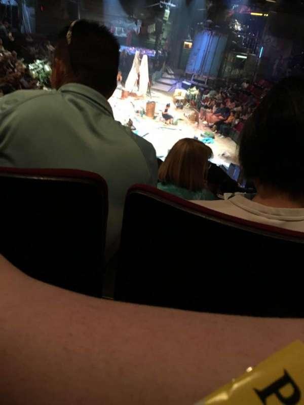 Circle in the Square Theatre, secção: ORCH, fila: K, lugar: 107