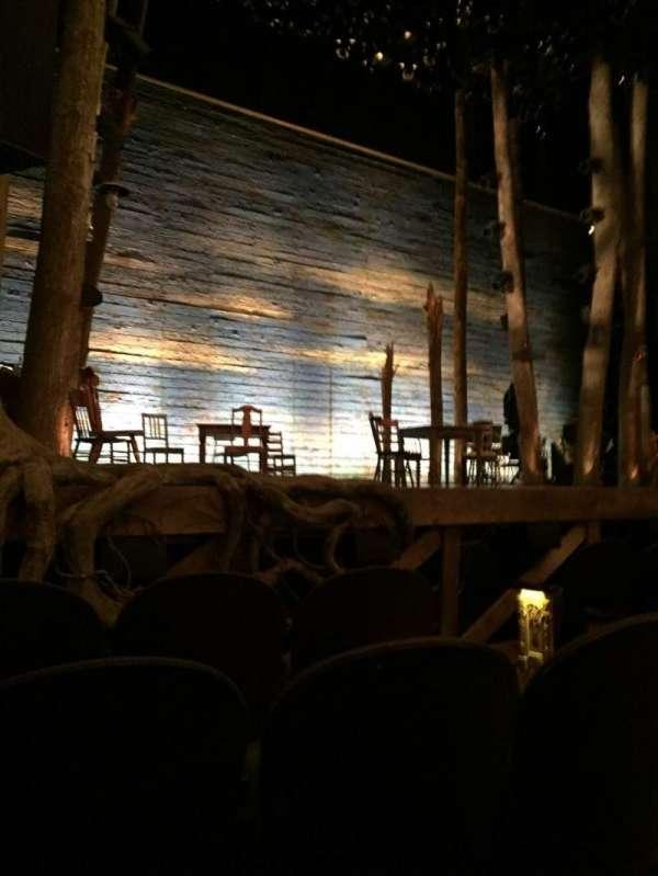 Gerald Schoenfeld Theatre, secção: Orchestra L, fila: D, lugar: 7