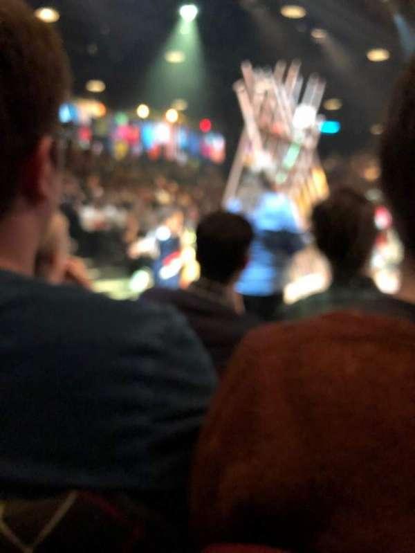 Circle in the Square Theatre, secção: Orchestra 200 (Odd), fila: B, lugar: 407