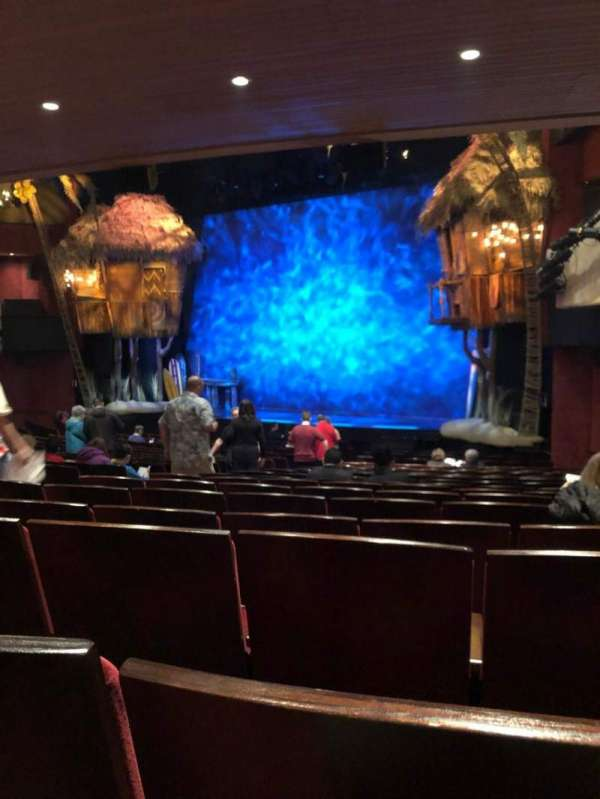 Marquis Theatre, secção: Orchestra C, fila: U, lugar: 14