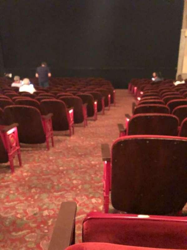 Neil Simon Theatre, secção: Orchestra R, fila: O, lugar: 2