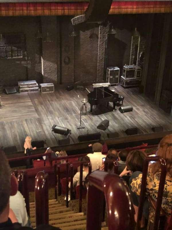Walter Kerr Theatre, secção: Mezz, fila: H, lugar: 1