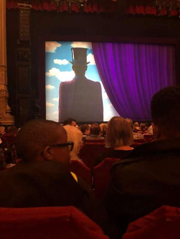 James M. Nederlander Theatre, secção: Orchestra C, fila: N, lugar: 101