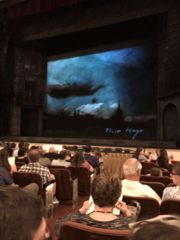 Shubert Theater (New Haven) , secção: Orch, fila: G, lugar: 4