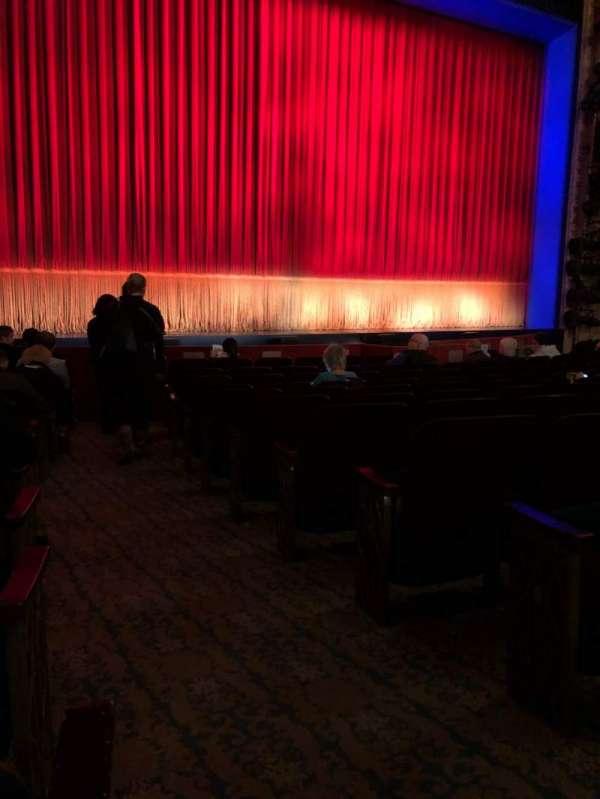 Longacre Theatre, secção: Orchestra L, fila: L, lugar: 2