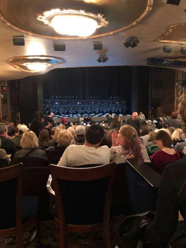 Lunt-Fontanne Theatre, secção: Orch, fila: Y, lugar: 18