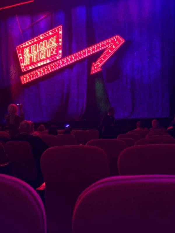 National Theatre (DC), secção: Orch, fila: J , lugar: 4