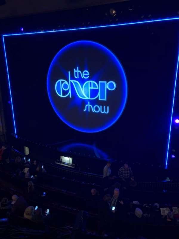 Neil Simon Theatre, secção: Front Mezzanine C, fila: A, lugar: 126