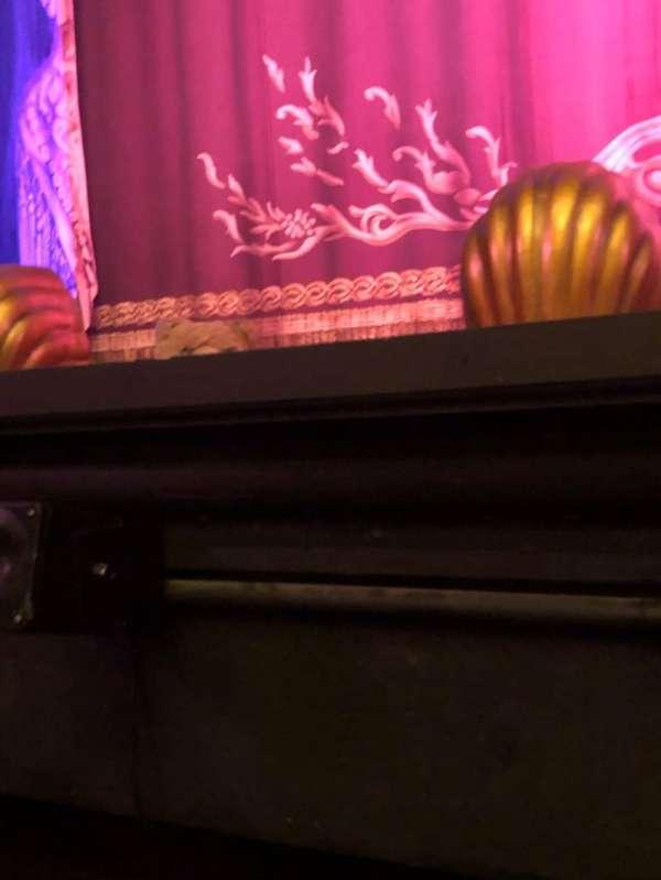 Hudson Theatre, secção: Orchestra C, fila: A, lugar: 104