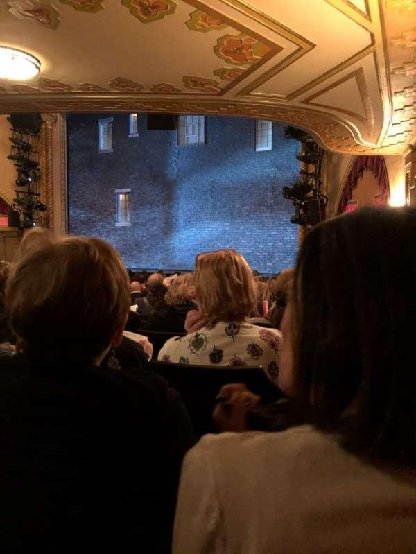 John Golden Theatre, secção: Orchestra R, fila: Q, lugar: 12